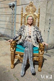 Diane Kruger – Vogue Germany October 2019 Issue